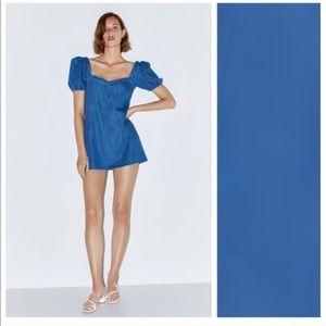 Zara Denim Mini Dress